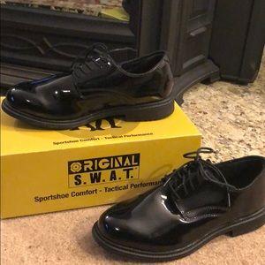 Men's ORIGINAL SWAT Patent Leather Clarino Wide